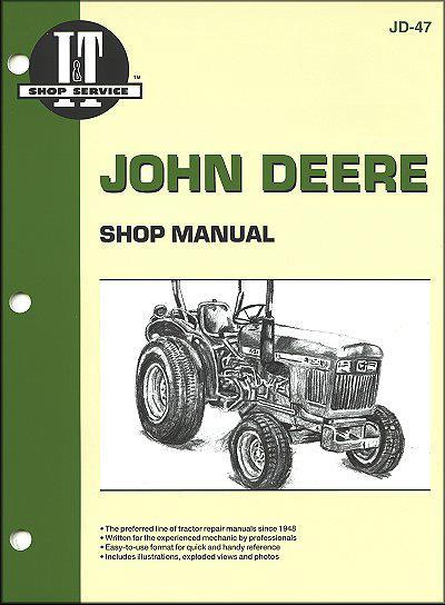 John Deere 1978 - 1989 Farm Tractor Owners Service & Repair Manual - Front Cover