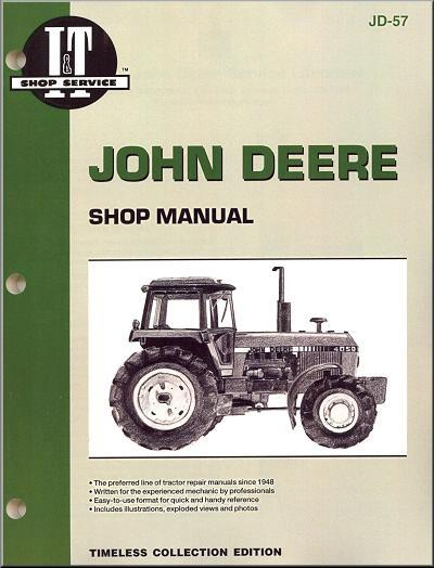 John Deere 1983 - 1988 Farm Tractor Owners Service & Repair Manual - Front Cover