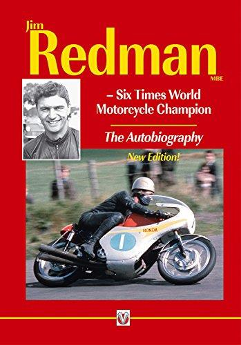 Jim Redman : Six Times World Motorcycle Champion - Front Cover