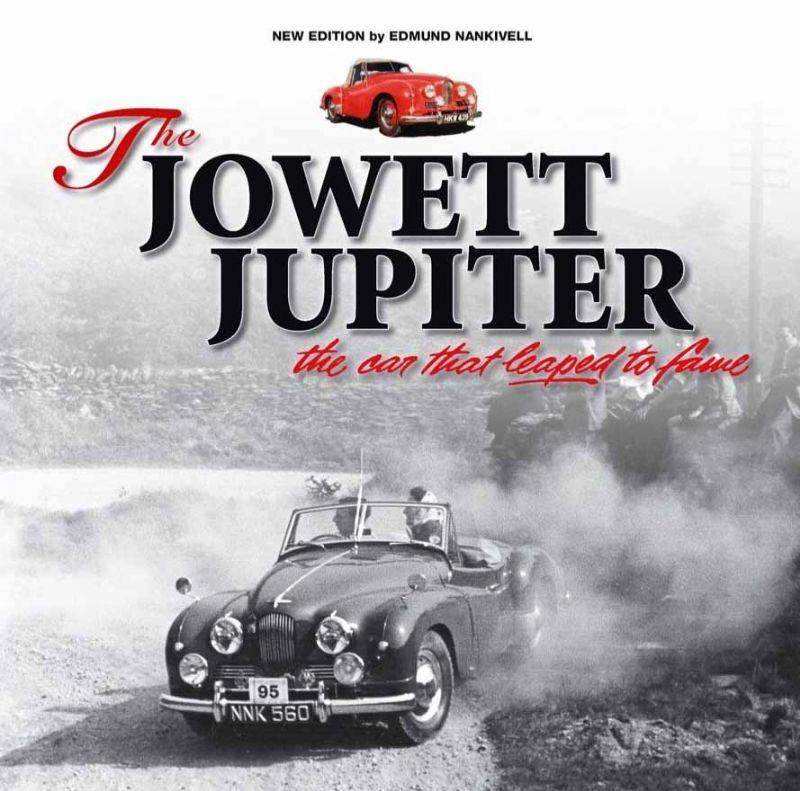 The Jowett Jupiter : The car that leaped to fame - Front Cover