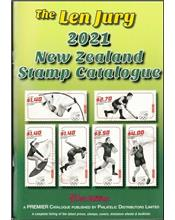 Len Jury 2021 New Zealand Stamp Catalogue