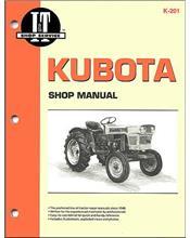 Kubota 1970 - 1987 Farm Tractor Owners Service & Repair Manual