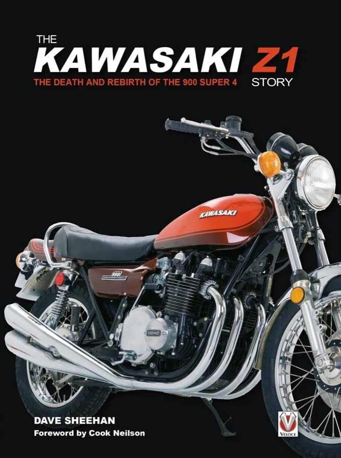 The Kawasaki Z1 Story - Front Cover