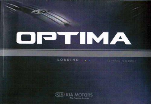Kia Optima TF 2013 Owners Manual