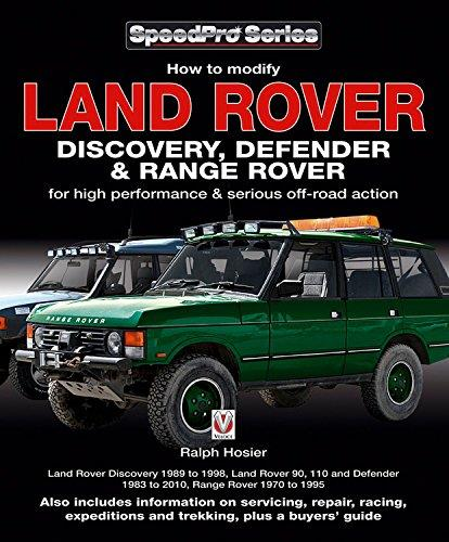 Land Rover Discovery, Defender & Range Rover - Front Cover