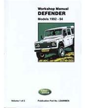 Land Rover Defender 90 110 & 130 1992 - 1994