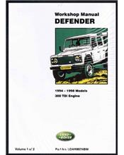 Land Rover Defender 90 110 130 1994 - 1998 Factory Workshop Manual