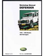 Land Rover Defender 90 110 130 1994 - 1998 VOLUME 1 ONLY