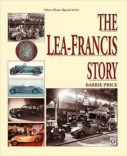 The Lea-Francis Story Classic Reprint - Front Cover