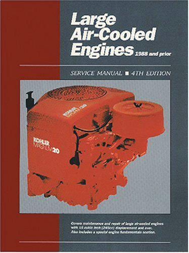 Large Air Cooled Engines 1988 and Prior (Volume 1)