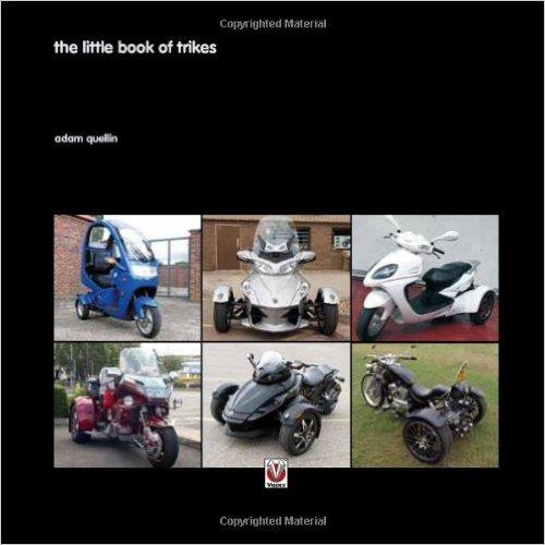 The Little Book of Trikes - Front Cover