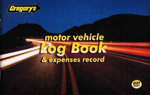 Motor Vehicle Log Book & Expenses Record - Front Cover