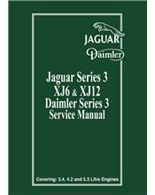 Jaguar XJ6 & XJ12 Series 3 Factory Repair Manual