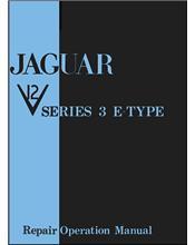 Jaguar V12 Series 3 E-Type Repair Operation Manual