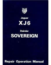 Jaguar XJ6 Series 2 Factory Repair Manual