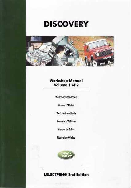 Land Rover Discovery 1994 - 1999 Factory Workshop Manual