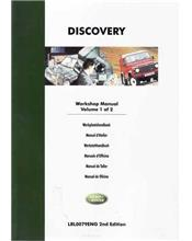 Land Rover Discovery 1995 - 1999 Factory Workshop Manual