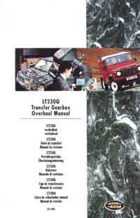 Land Rover LT230Q Transfer Gearbox Overhaul Manual