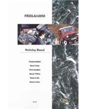 Land Rover Freelander 1998 - 2000 Factory Workshop Manual