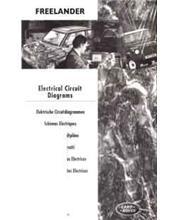 Land Rover Freelander 1998 - 2000 Wiring Diagrams Factory Manual