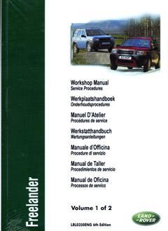 Land Rover Freelander 2001-on Repair Manual Part 1