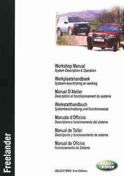 Land Rover Freelander 2001-on Repair Manual Part 2