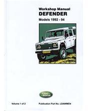 Land Rover Defender 1992 - 1994 Repair Manual