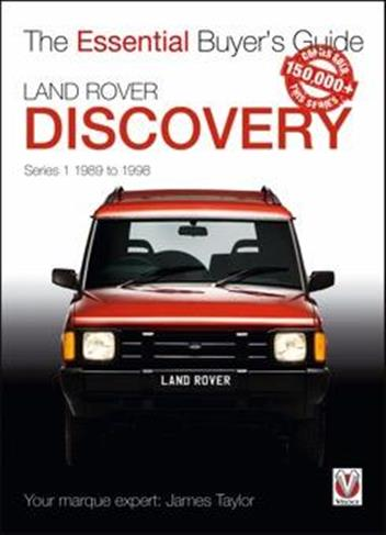 Land Rover Discovery Series 1 1989 - 1998 : The Essential Buyers Guide - Front Cover