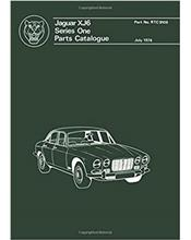 Jaguar XJ6 Series 1 Factory Parts Manual