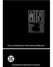 Mini Comprehensive Repair Manual: Australian Edition