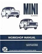 Mini (Concise) Mini & Moke Owners Service & Repair Manual - Front Cover