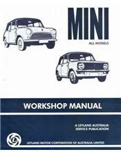 Mini (Concise) Mini & Moke Owners Service & Repair Manual