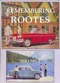 Remembering Rootes Volume 2 : Early 1960's - Front Cover