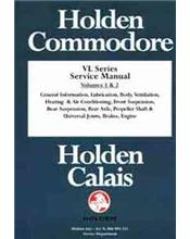 Holden Commodore VL Series 1986 - 1988 Service Manual