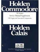 Holden Commodore VL Series 2.0 Litre Engine Factory Workshop Manual Supplement - Front Cover