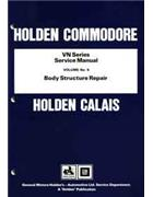 Holden Commodore VN Series Service Manual: Volume 9 - Front Cover