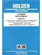 Holden Commodore VR Series 1993 - 1995 Factory Service Manual: Volume 6 -