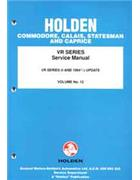 Holden Commodore VR Series Factory Service Manual -