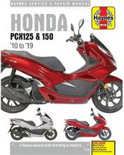 Honda PCX125 &150 2010 - 2019 Haynes Owners Service & Repair Manual
