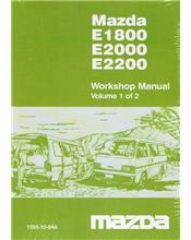 Mazda E Series 1984 - 1996 Factory Workshop Manual : 2 Volume