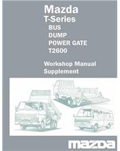 Mazda T Series 1984 Factory Workshop Manual Supplement