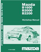 Mazda B Series 02/1985 Factory Workshop Manual - Front Cover