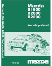 Mazda B Series 02/1985 Factory Workshop Manual