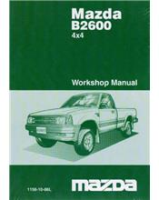 Mazda B Series 12/1986 4X4 Factory Workshop Manual