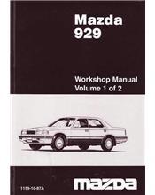 Mazda 929 HC 01/1987 Factory Workshop Manual : 2 Volume Set