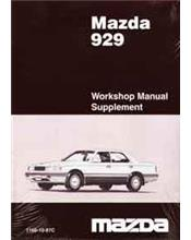 Mazda 929 HC 03/1987 Automatic Transmission Factory Workshop Manual Supplement