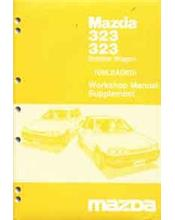 Mazda 323 BF 06/1987 Factory Workshop Manual Supplement