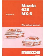 Mazda 626 (GD) & MX6 (GD) 1987 Factory Workshop Manual : 2 Volumes