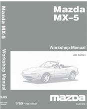 Mazda MX-5 NA 09/1989 Factory Workshop Manual