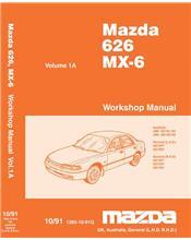 Mazda 626 & MX6 GE 07/1991 Factory Workshop Manual